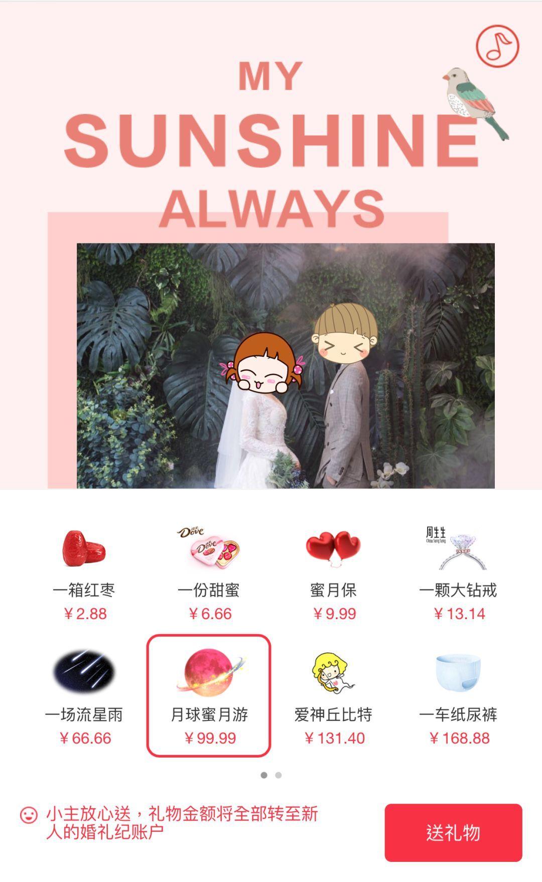 上海结婚礼金多少_随份子钱,当代青年的月度主要开销_朋友