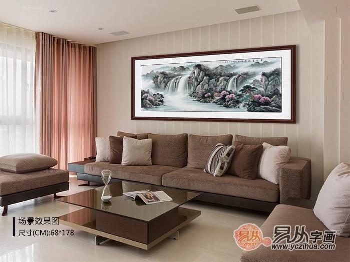 什么样的客厅挂画能给家庭带来好运?这些装饰画了解一下