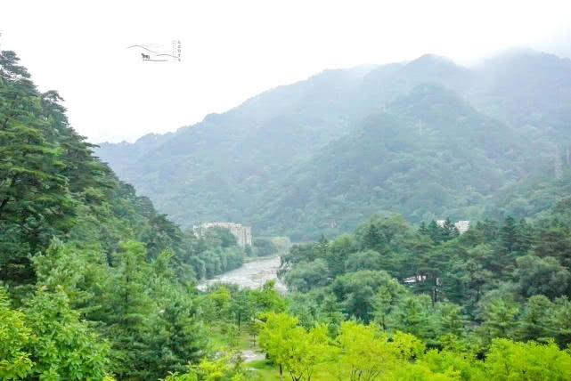 朝鲜这座山,藏着中国赠送的礼物,并派兵把守禁止拍照