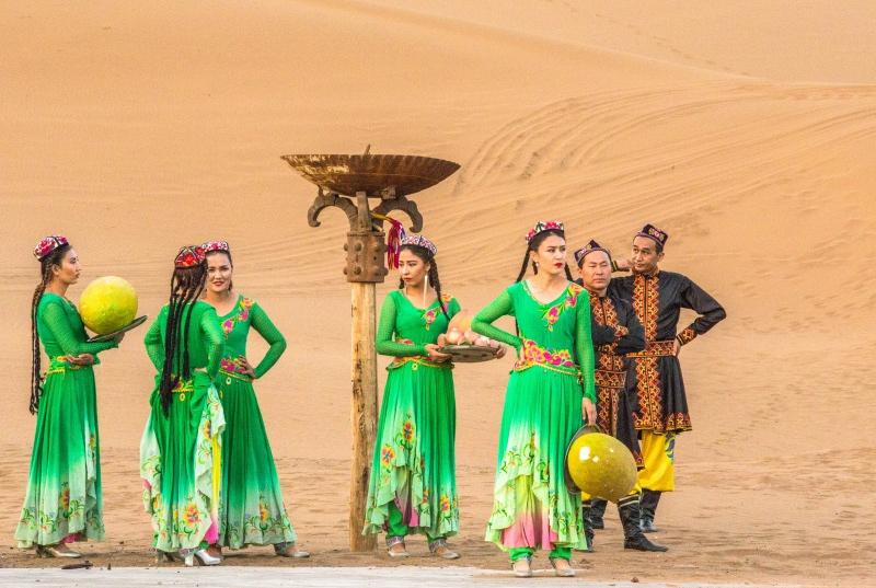 距離沙漠最近的城市,風沙從不卷入,有人認為它是昔日樓蘭