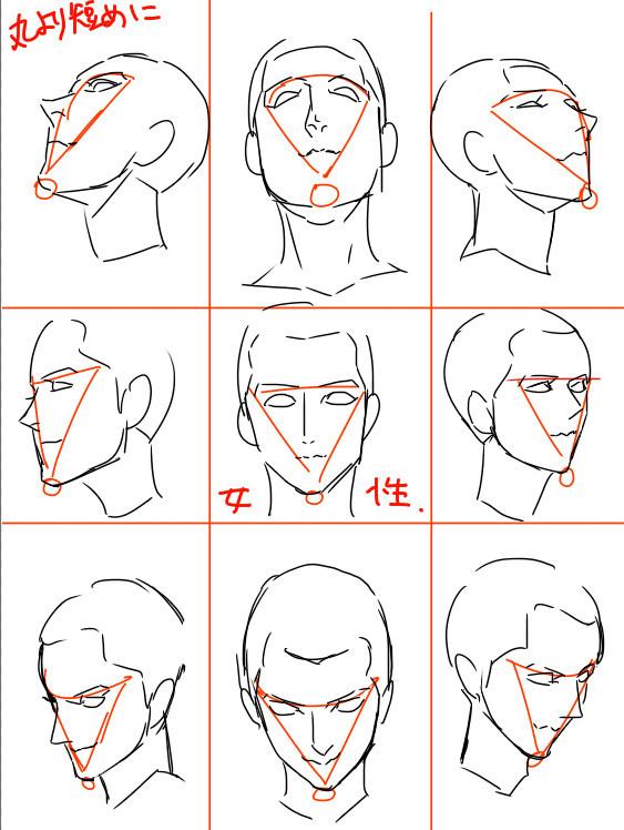 【精选】人物五官绘画步骤_搜狐动漫_搜狐网