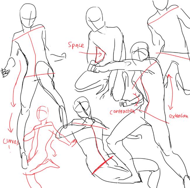 动漫 正文  动漫人物大腿应该怎么画?