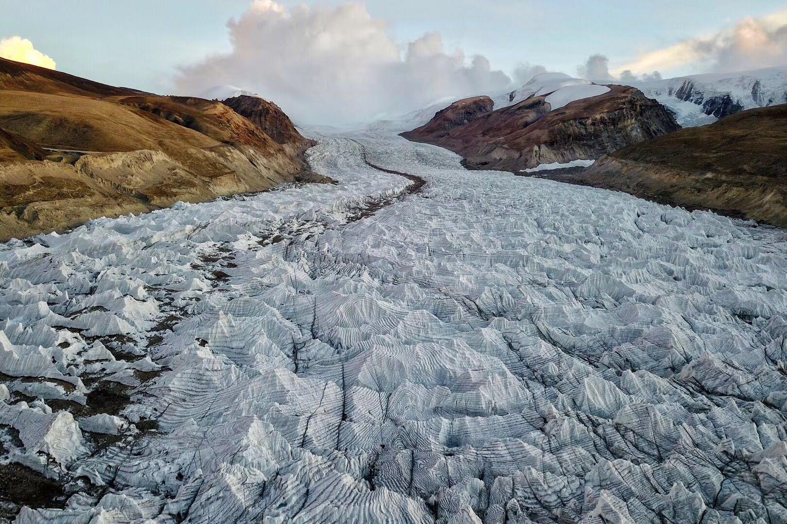 西藏不丹边境上的冰雪秘境40冰川 川藏线旅游攻略 第5张