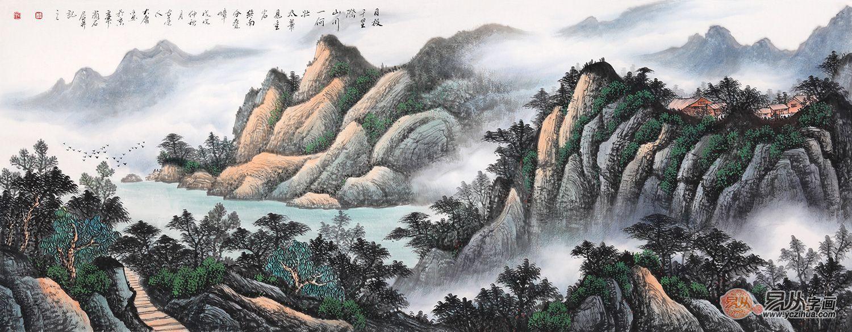 中国当代实力派画家薛大庸 翰墨山水艺术人生!