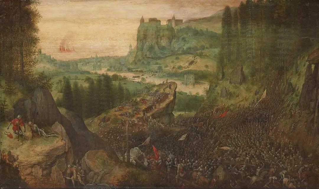 """欧洲美术史上第一位""""农民画家""""——老彼得·勃鲁盖尔图片"""
