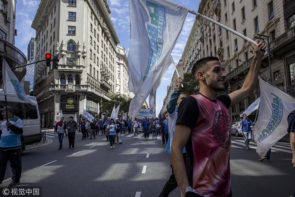 """""""阿根廷""""全国瘫痪""""24小时!直接损失八亿美元!"""
