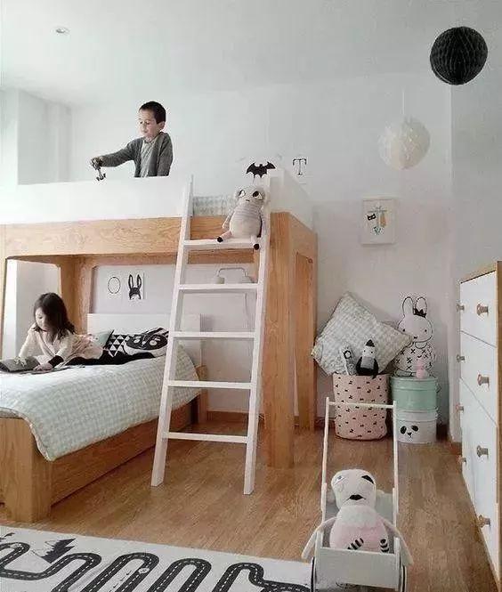 敲黑板 | 儿童房设计成上下床有哪些好处?