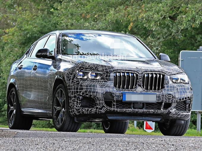 战奔驰GLE Coupe!宝马全新X6运动版-搭4.4T引擎