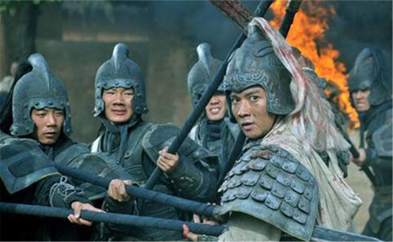 赵子龙大战马超, 势均力敌, 身姿矫健!