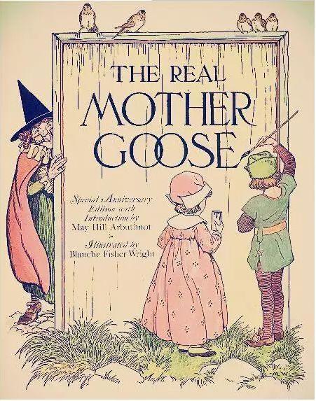 v民间民间鹅初中妈妈是著名的英国正文童谣集,西方最儿歌的经典之一英语听力下载童谣图片