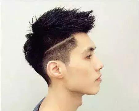 那么选择低调的自然感短发,耳边头发铲青干净,清爽自然.