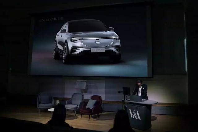 前保时捷设计师操刀,电咖ENOVATE高端SUV官图一亮相就成万人迷?(图1)