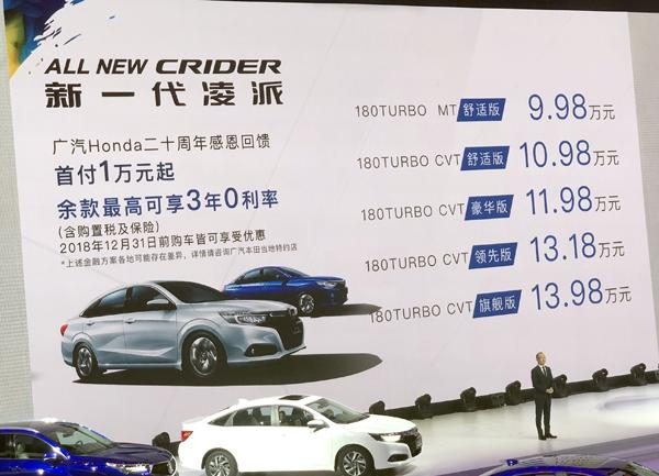广本全新车型上市目标直指东本思域你会买哪个?_北京pk拾赛车开