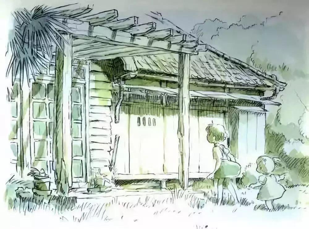 宫崎骏40年原画手稿赏析