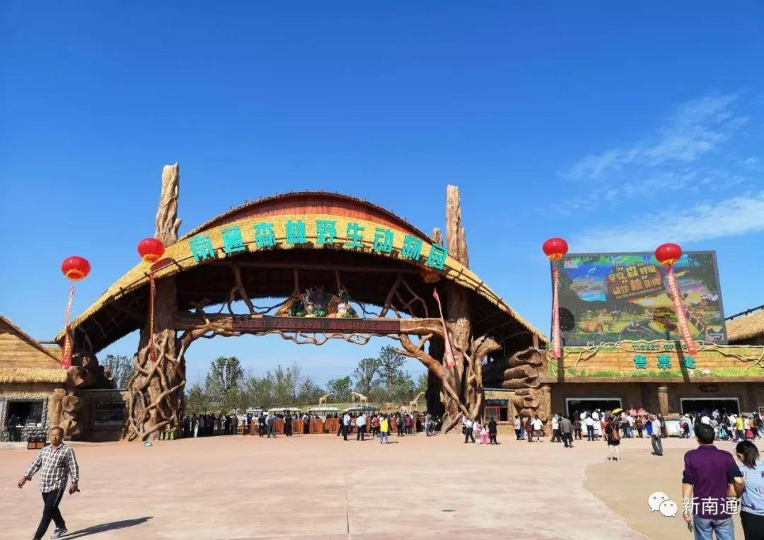 南通动物园_超多图片带你直击南通森林野生动物园开业现场,还有最
