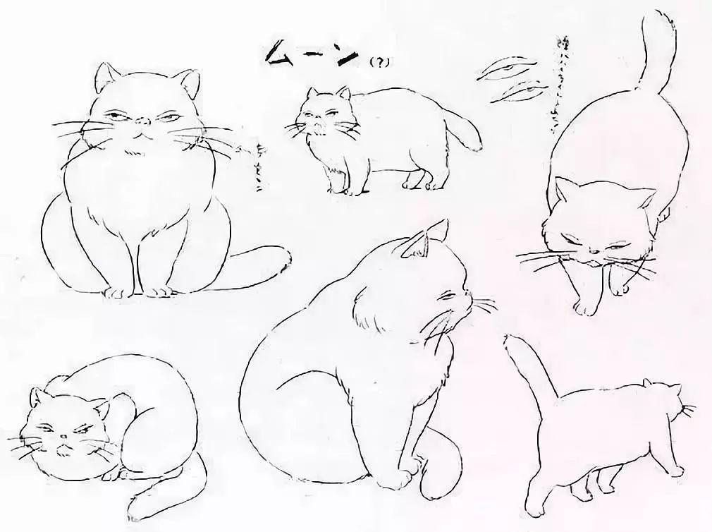 宫崎骏40年原画手稿,充满治愈人心的力量