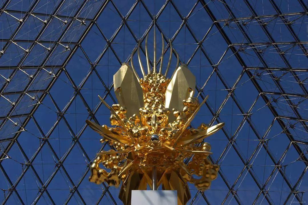 【绝对艺术】3D技术融合古埃及工艺名和晃平新作亮相卢浮宫