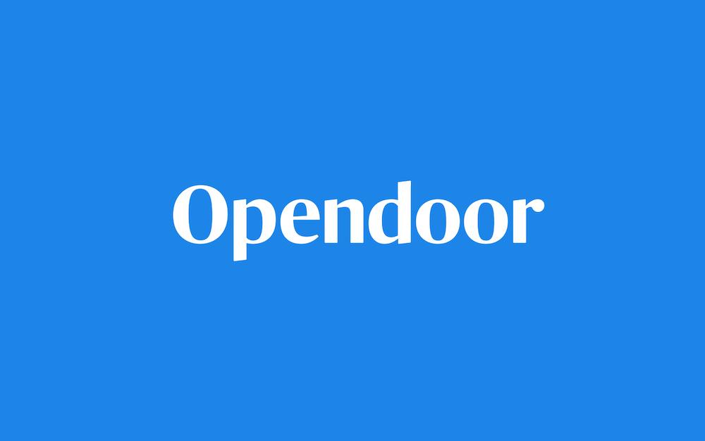 软银 4 亿美元投资房屋在线交易平台 Opendoor