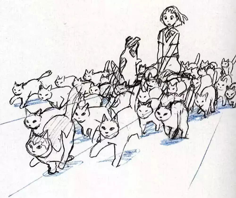 宫崎骏四十年原画手稿