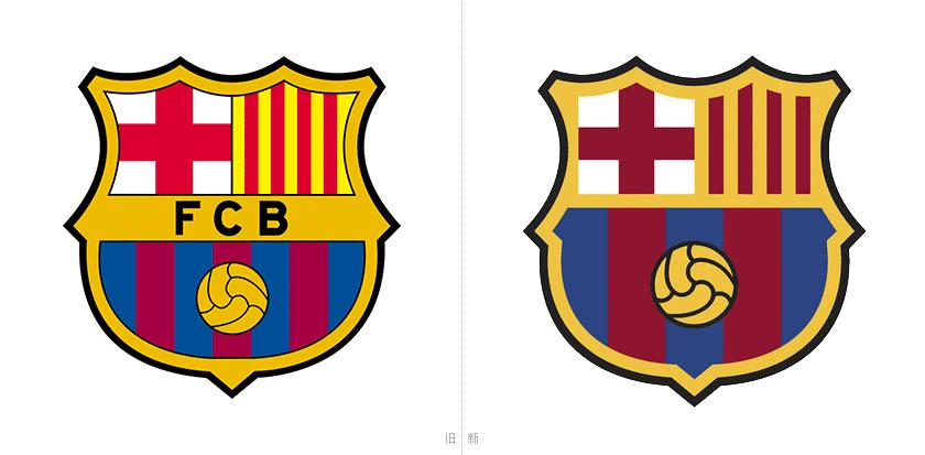 9月28日上午,巴塞罗那足球俱乐部官方发布了新队徽设计,投票通过后,新