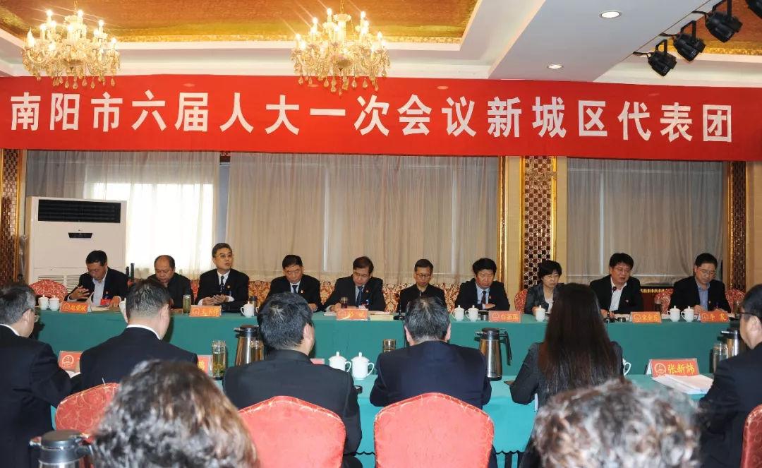 高新区人大代表参加新城区代表团会审议政府工作报告