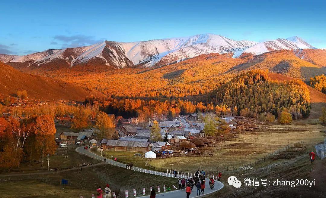 【张艺摄影382】十一黄金周,十万人正赶往这里,去赏秋天色!绝色美景