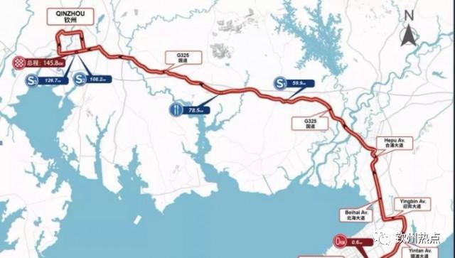 2018环广西公路自行车世界巡回赛比赛线路要经过钦州啦!