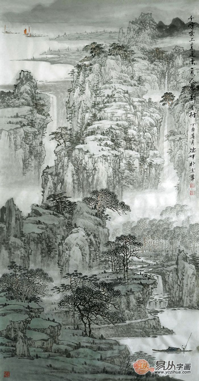 江山如此多娇 看当代画家林德坤如何绘就大气山水画
