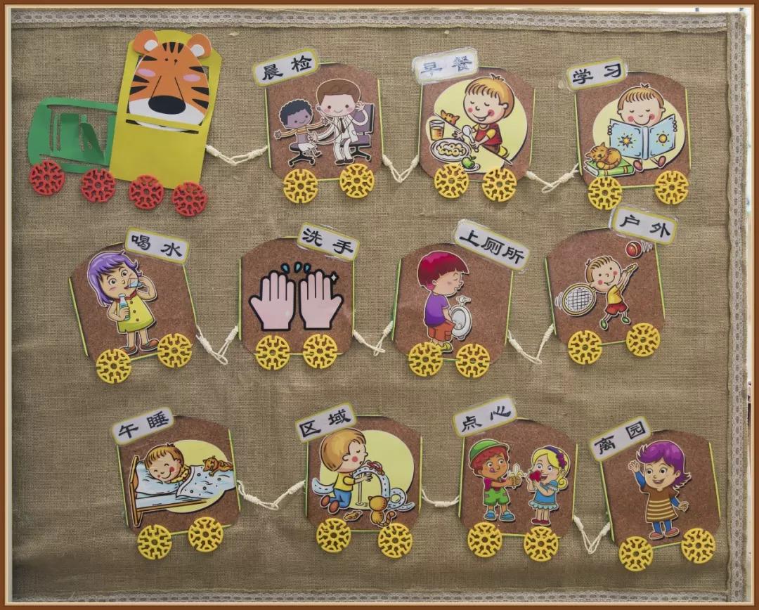 《主题环境创设-小班-主题一-我上幼儿园啦  》