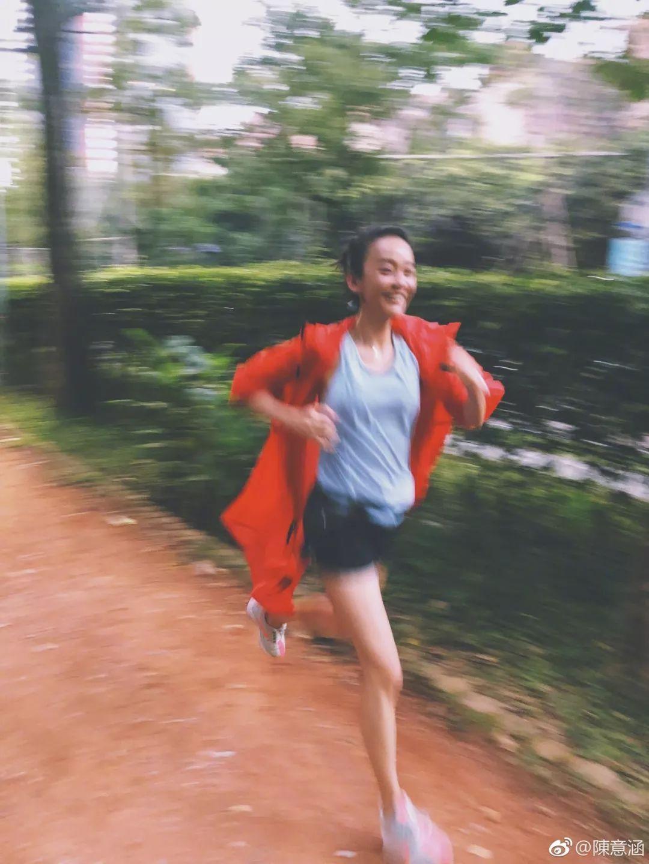【热点】女星陈意涵怀孕5个月,半小时跑完5公里!医生说...