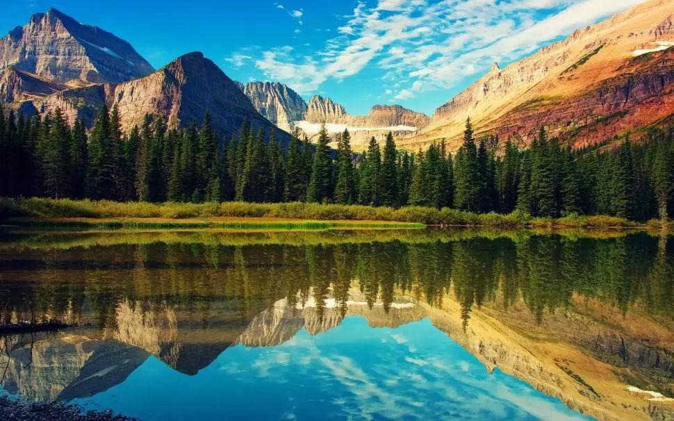 在火车上看风景,竟然是落基山脉的最佳打开方式?