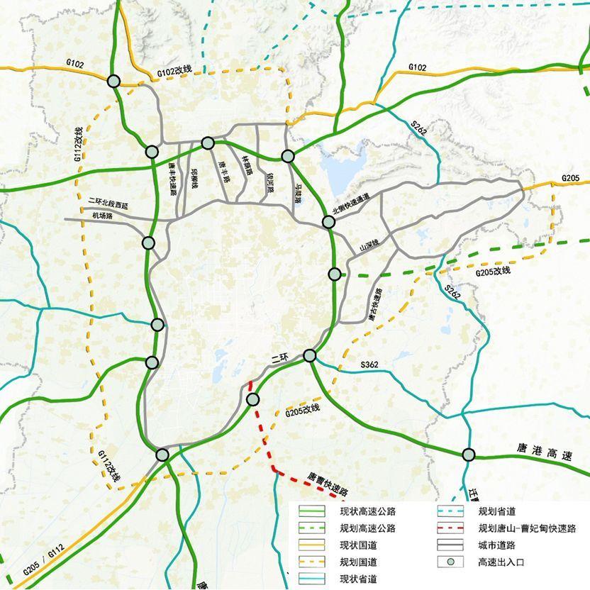 唐山市古冶区规划图