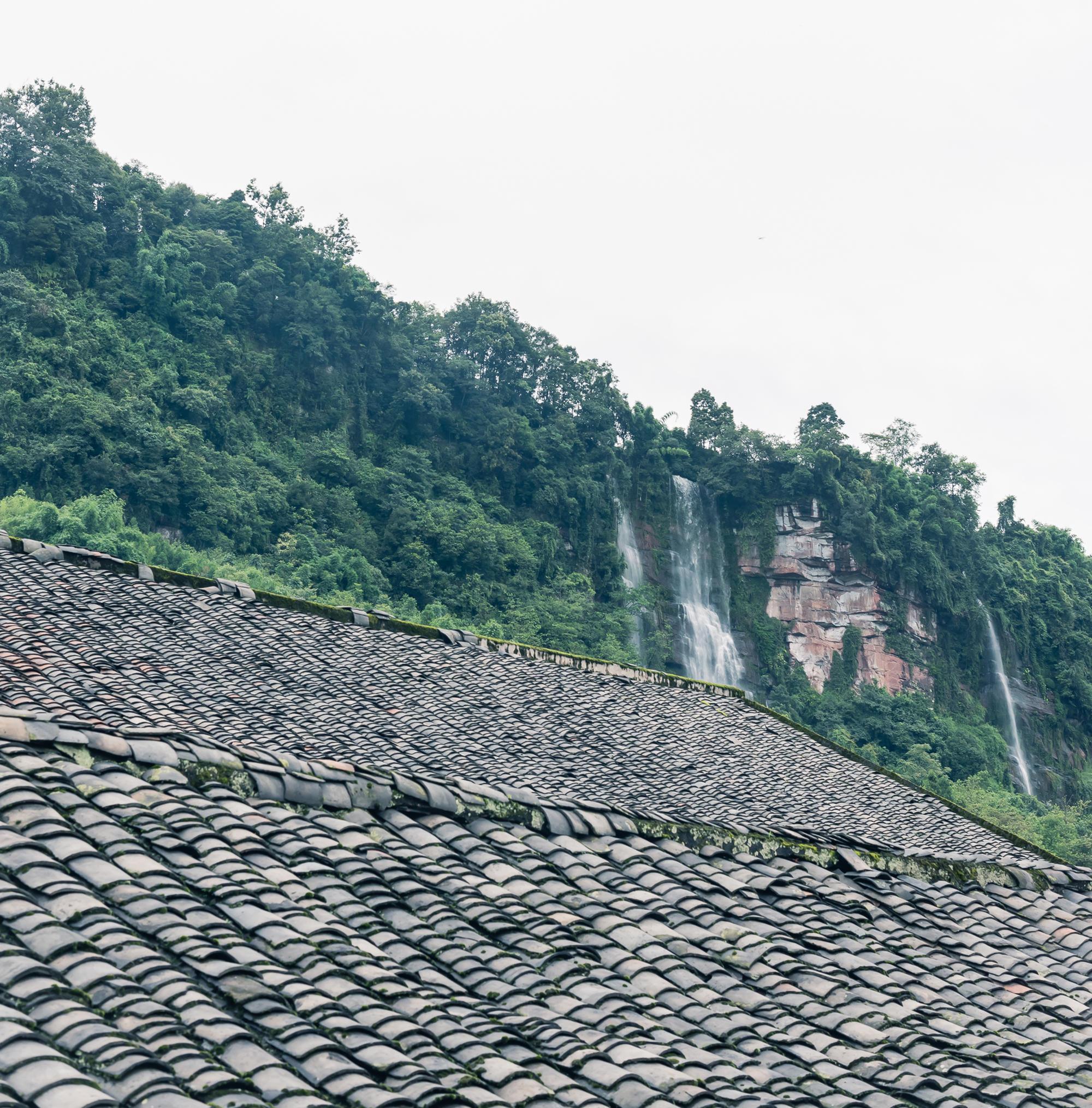 四川集市贸易繁华的集镇 保留着四川正在逐渐消失的各种风俗习惯