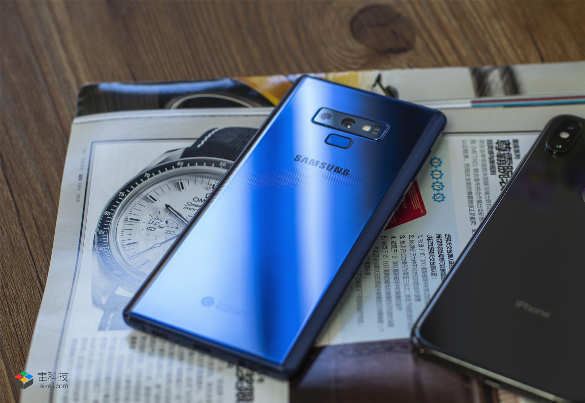 三星Galaxy Note 9代表安卓手机 迎战苹果iPhone XS Max