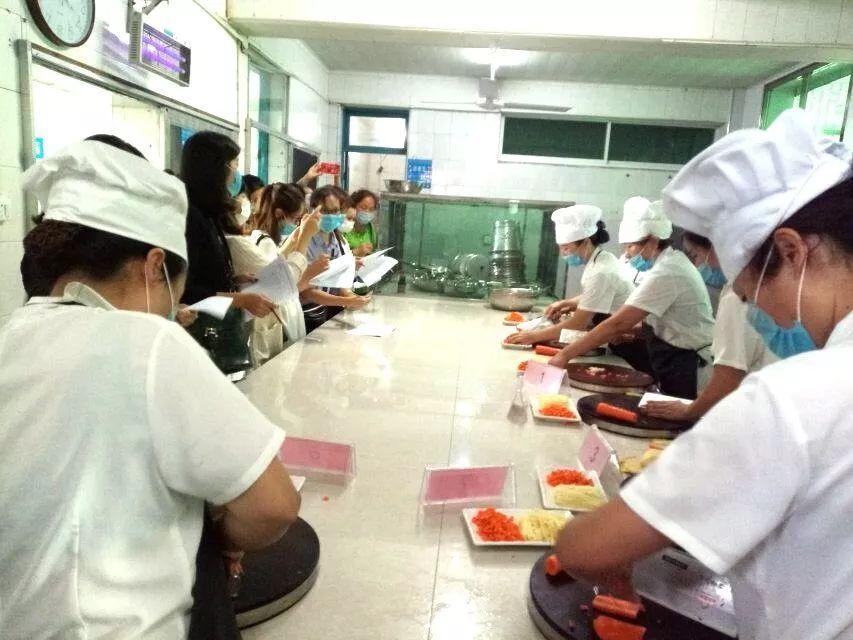 阿姨上的幼儿食堂之县推荐幼儿园美食舌尖厨美食郑州实验上街图片