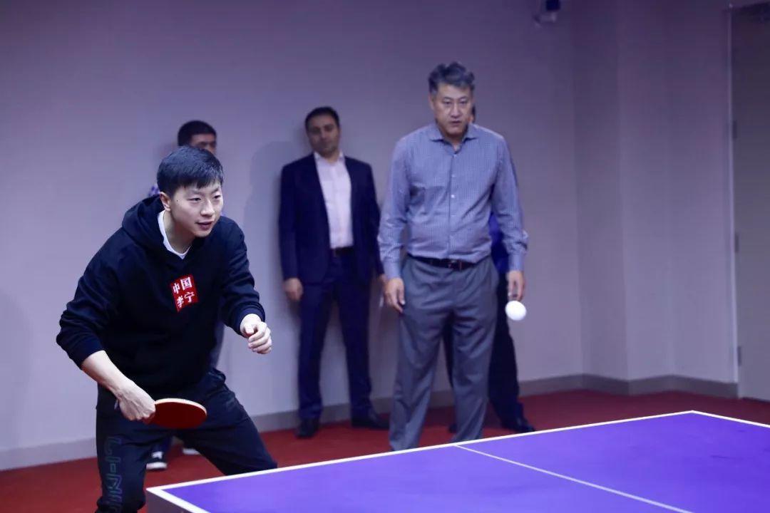 """马龙助阵!中外外交官首届""""友谊杯""""乒乓球赛在京举行"""