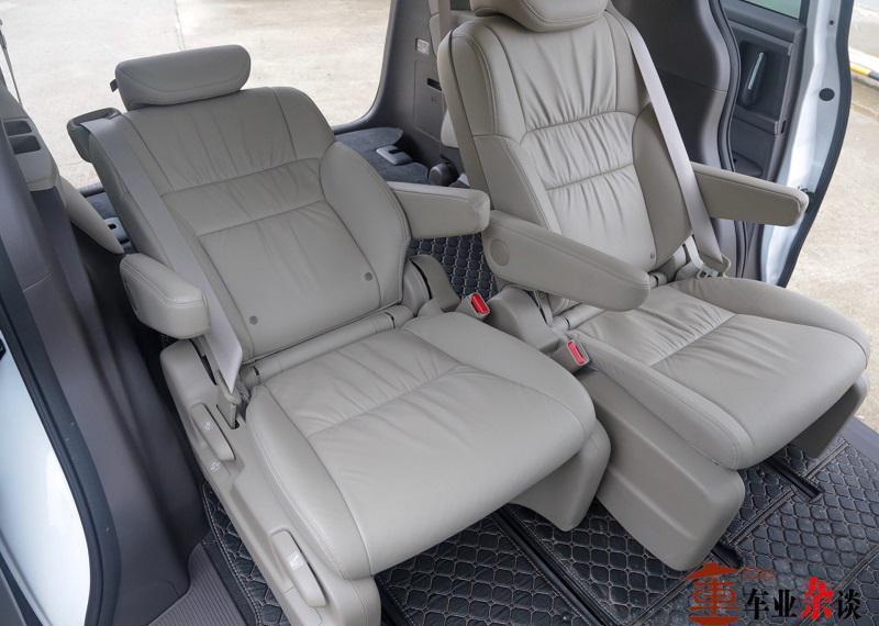 最合理利用车内空间奥德赛值得自主品牌车学习