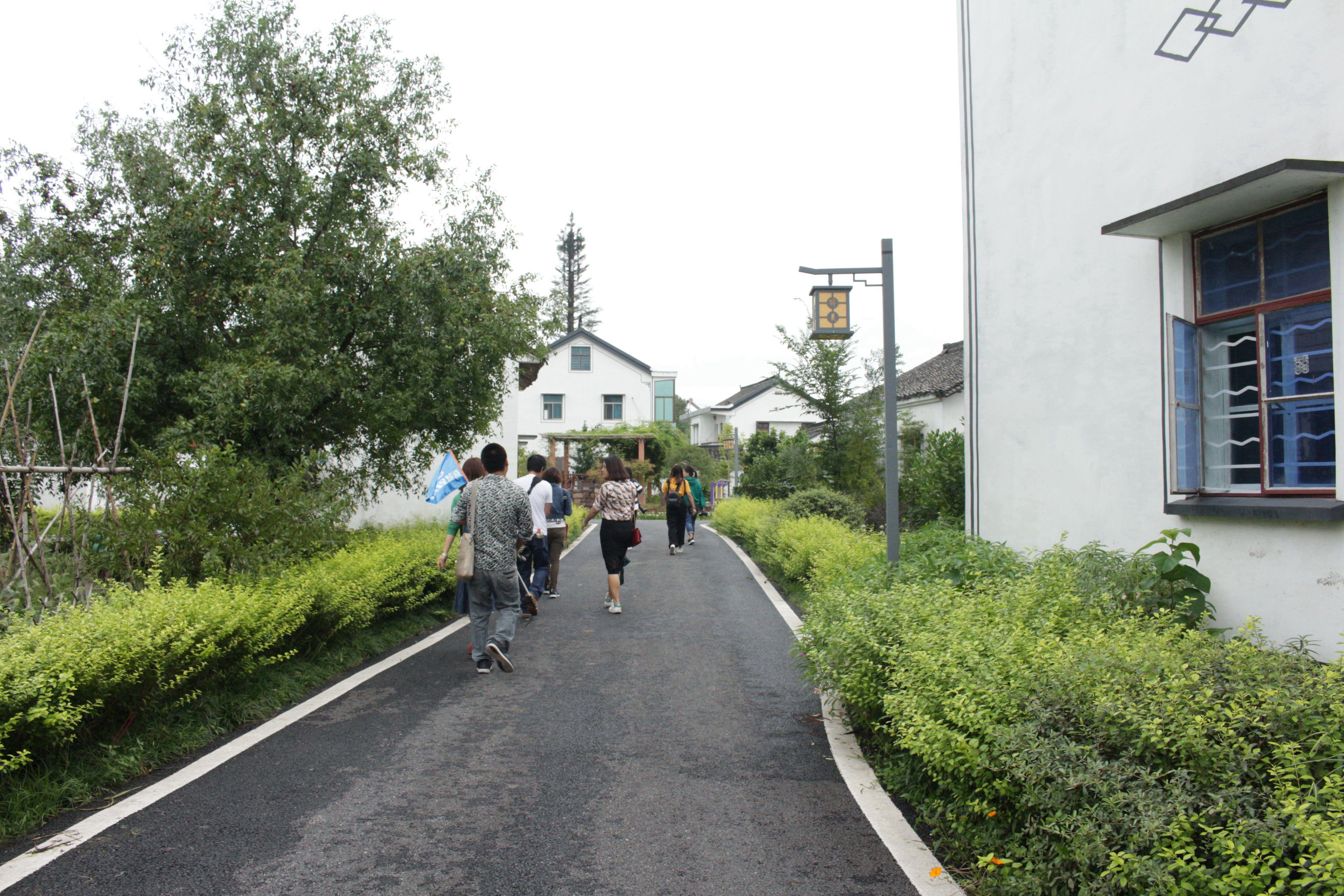 小众观潮点推荐,这个村子离上海不足2小时路程,宁静而自然