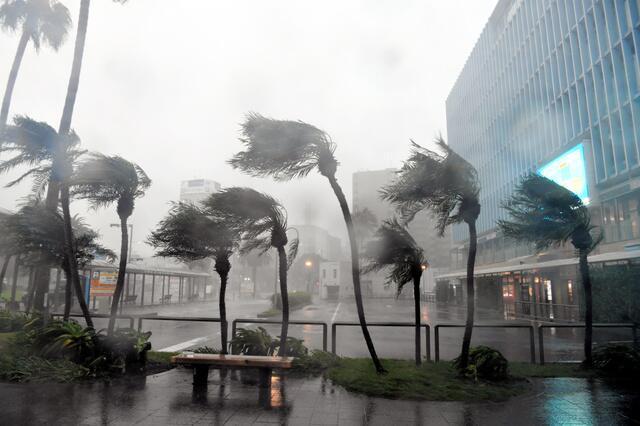 """台风""""潭美""""逼近  日本将停运首都及周边所有线路列车"""