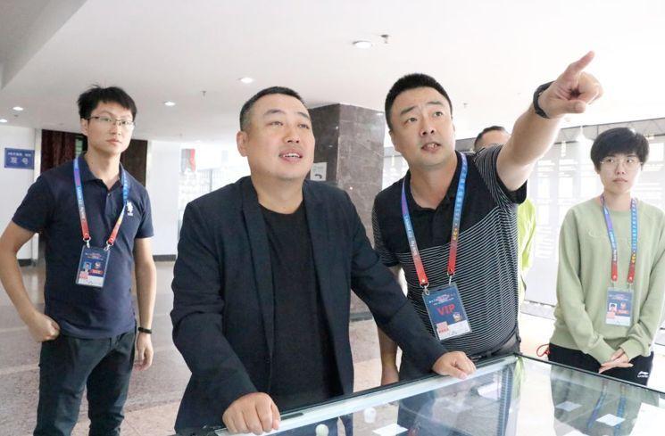 """全国乒乓文化巡展走进成都――""""传奇私服挖端下载乒乓宝贝""""评选大赛受好评"""