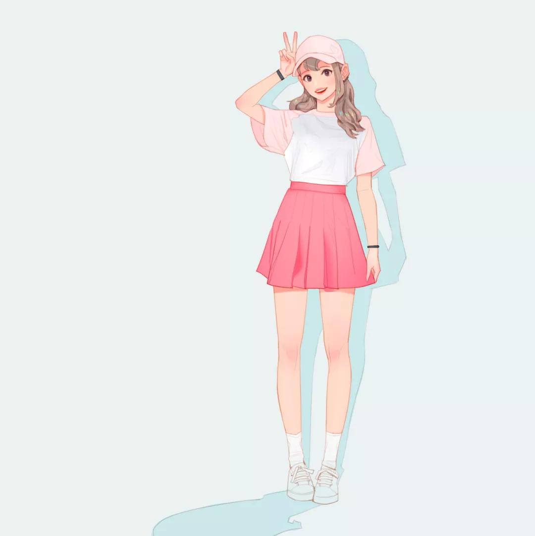 韩国小哥将前女友画成插画,淑女妖精全都有?简直太撩人了!图片