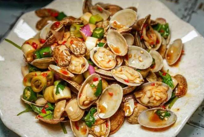 除了串串,火锅, 生蚝(两种口味) 扇贝(两种口味) 行走的皮皮虾 中奖
