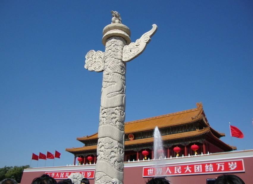天安门前的石柱,究竟是有什么用途?网友:佩服古人的智慧