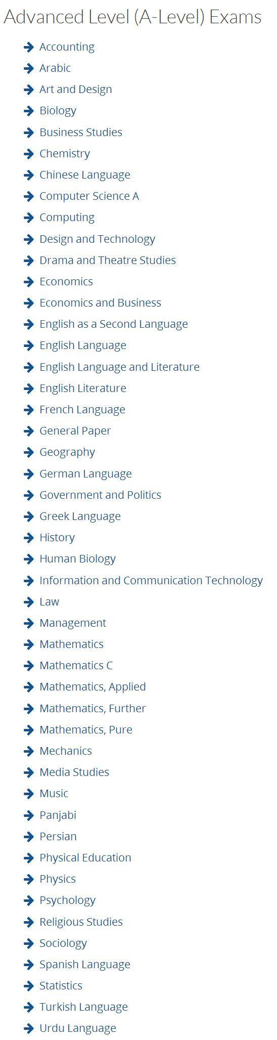 申请美国大学 A-level 注意事项