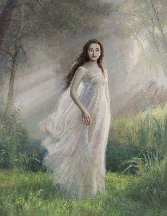 世界经典油画赏析_油画朦胧美及其发展浅析,世界经典油画鉴赏,美若天仙的人体油画