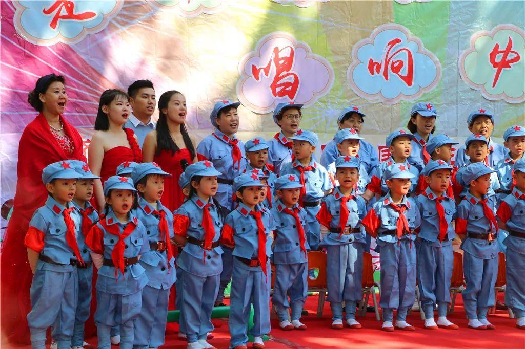 我是中国娃 唱响中国梦——经五路幼儿园庆国庆班级合唱节