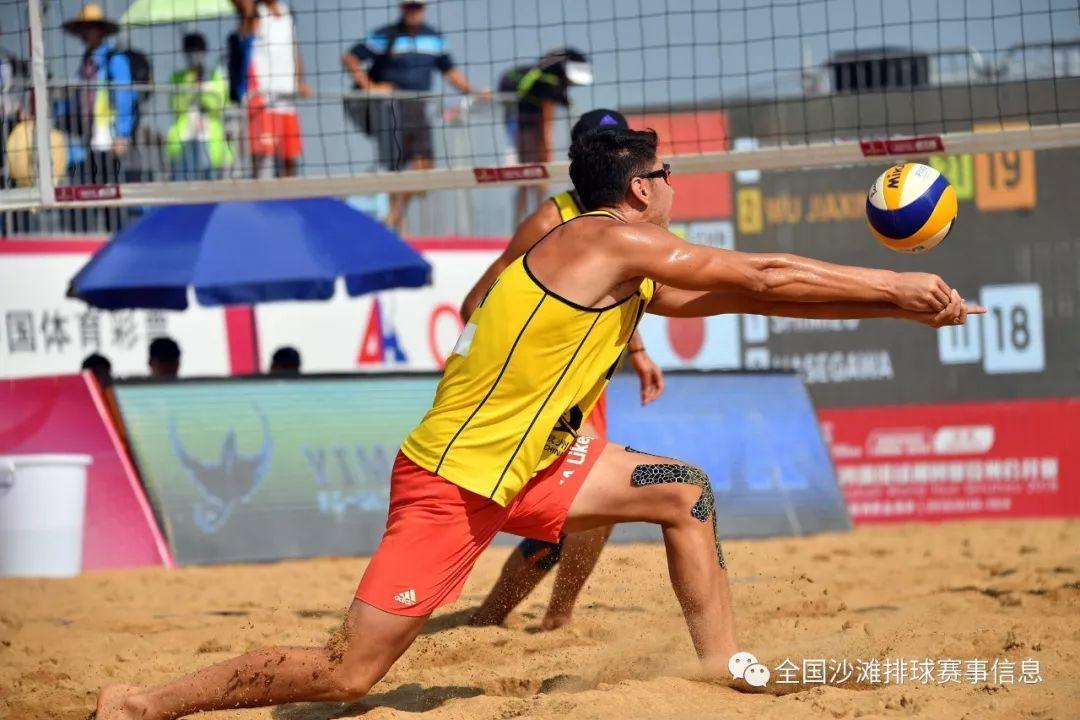 2018年世界沙滩排球巡回赛钦州站正选赛全面开战
