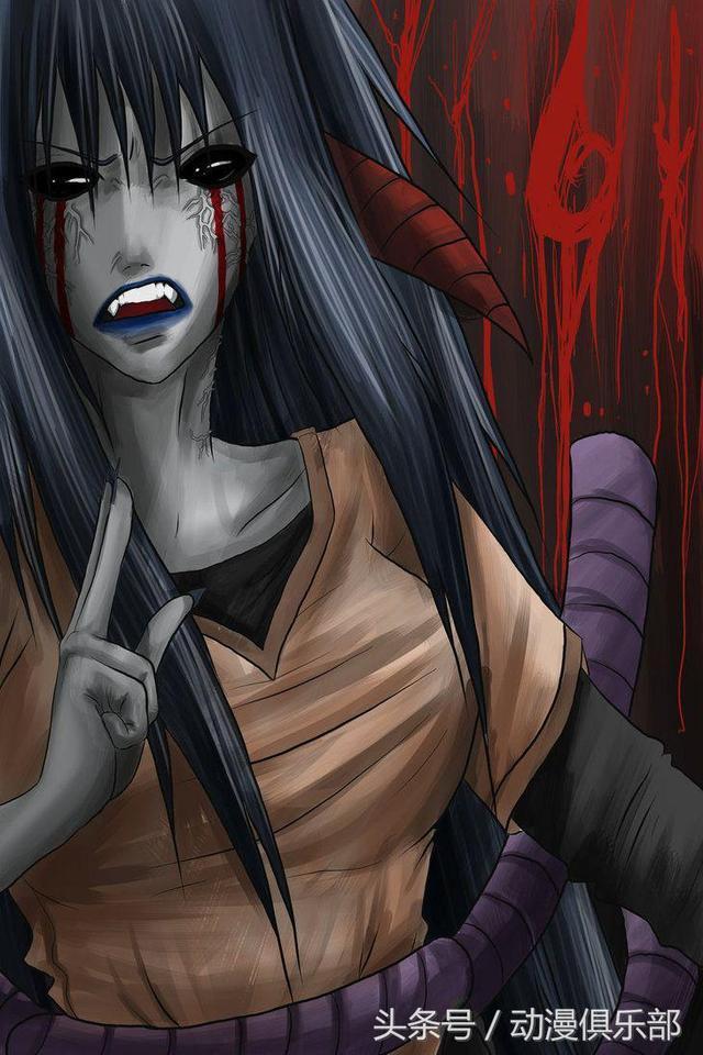 火影忍者:当雏田黑化后,音忍造型太邪恶,咒印模式丑的
