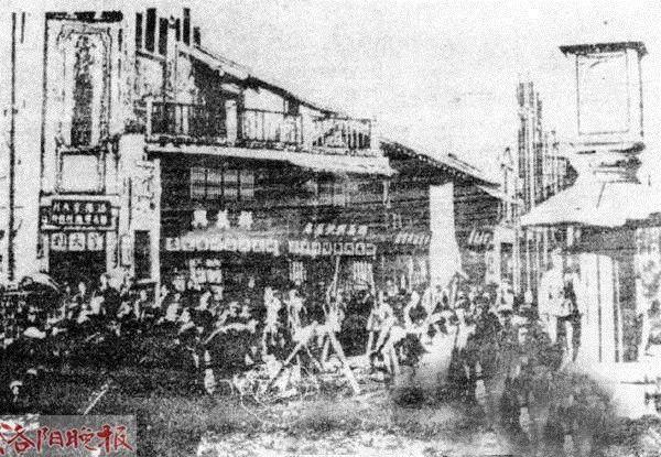 新中国成立初期的十字街