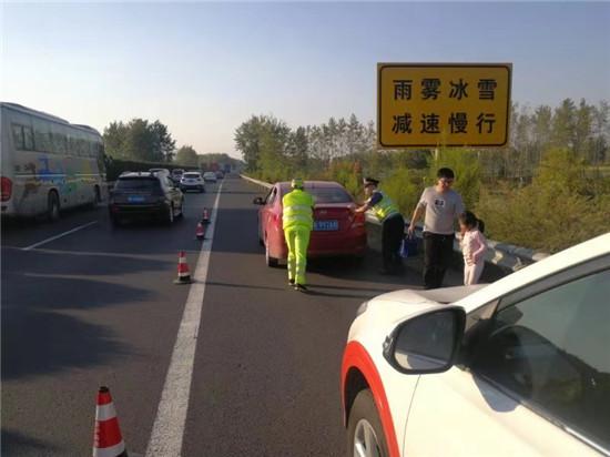 江苏高速公路交通综合执法京沪支队第二大队全面进入国庆节奏